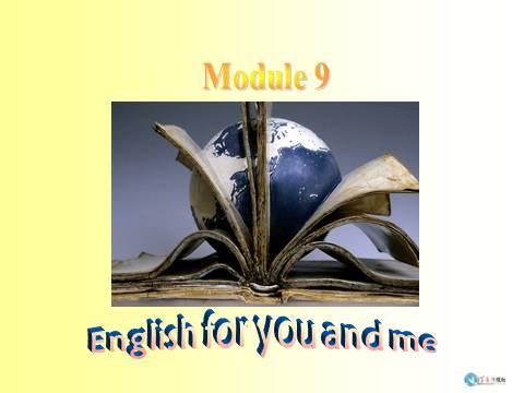 九年级英语外研版下m9u1课件